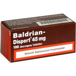 BALDRIAN DISPERT 45 mg \u25berzogene Tabletten